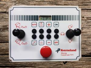 Kverneland Hay Baler Wrapper Panel Sticker