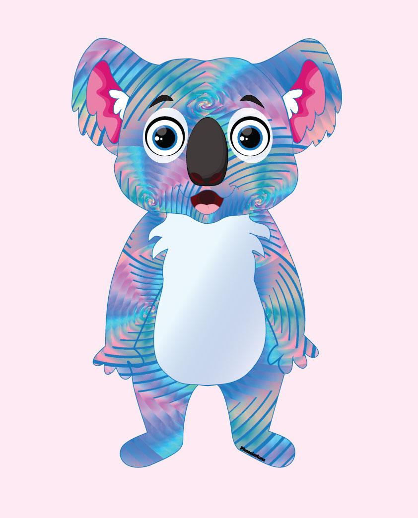 Kelly Koala Cartoon Design Diva Creative Diva Creative